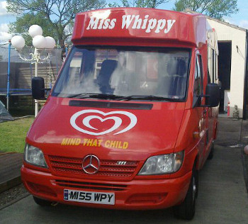 Mr Whippy Ice Cream Van Hire