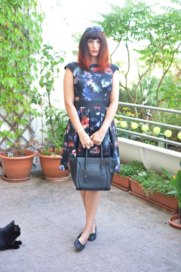 Black Floral Dress_08