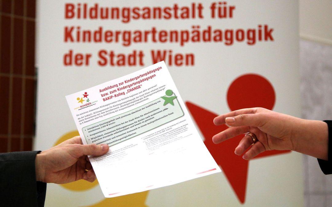 Volles Haus in der bakip21: Infotag zur Ausbildung für Kindergartenpädagogik
