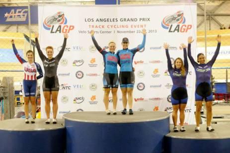 2013 UCI LA Grand Prix Team Sprint Champion