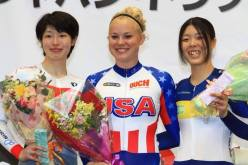 2014 UCI Japan Track Cup II Sprint Champion