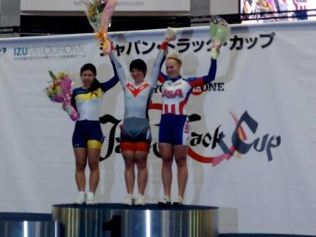 2014 UCI Japan Track Cup II Keirin Bronze Medalist