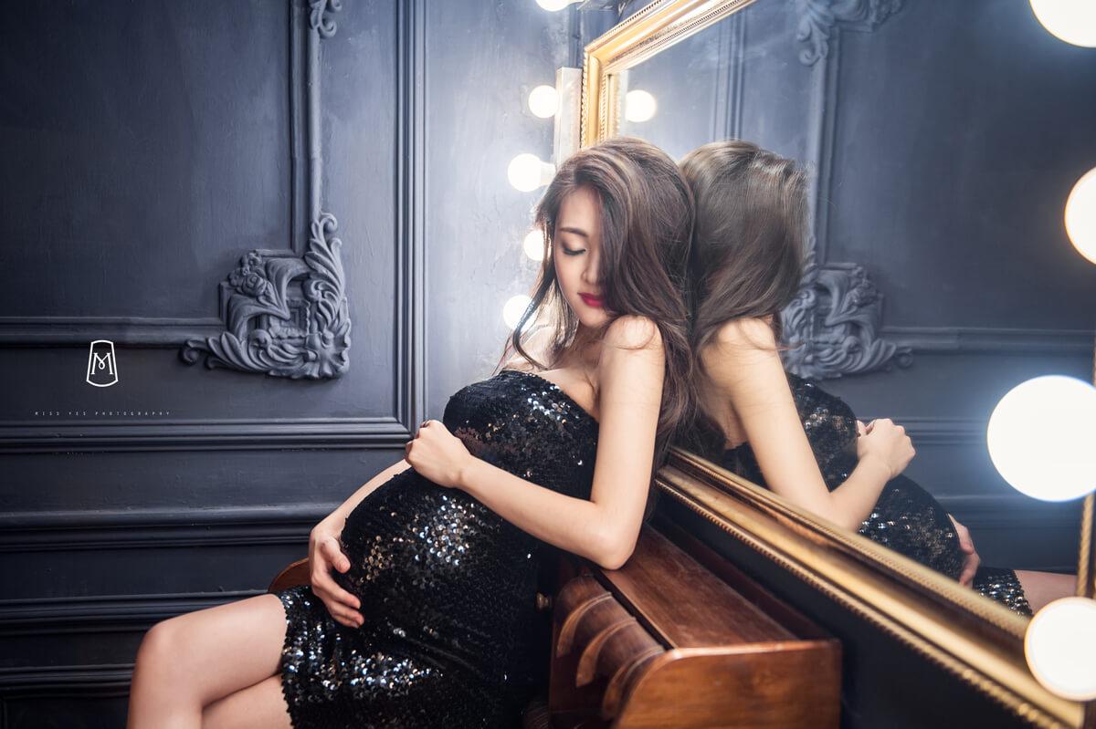 孕婦寫真,女攝影師,孕媽咪,時尚,歐美風格