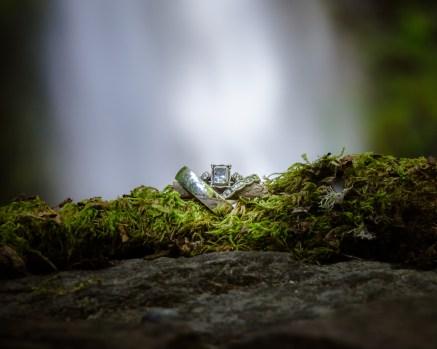 Horsetail falls wedding