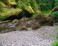 Wahclella Falls Trail