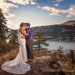 Stonehenge Gardens, Hood River, OR Wedding | Lisa and Zanne