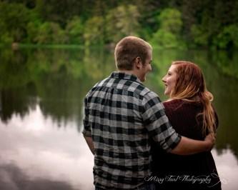 Vancouver wa engagement session at round lake camas wa