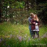 Round Lake Engagement | Kelsey and Jaremy An Engagement Session in a Thunderstorm