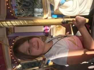The giant carousel at Magic Kingdom