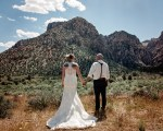 Heather and John's Red Rock Canyon Wedding.