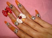3d nail art over top missyjulezzz