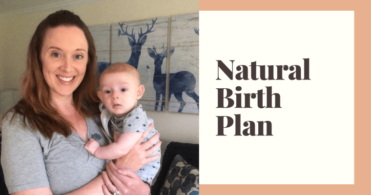 My Natural Birth Plan