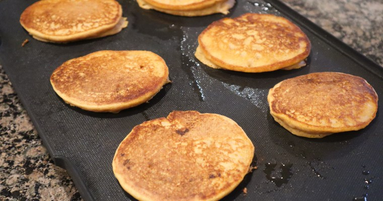 Pumpkin Kodiak Cake Pancakes