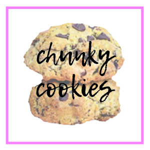 chunky cookies category