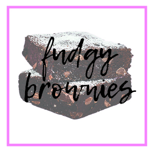 fudgy brownies category