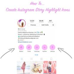 story instagram create icons highlights highlight insta categories step