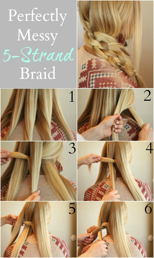 30 5 Strand Braid Step By Step Hairstyles Hairstyles Ideas Walk