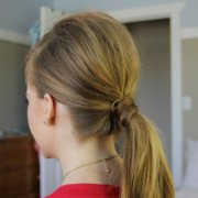sleek ponytail missy