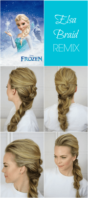 frozen elsa braid remix