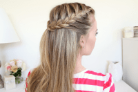 French Braid Hairstyles With Hair Down - HairStyles