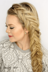 Tutorial How To Make The Perfect Fishtail Braid Hairstyle ...
