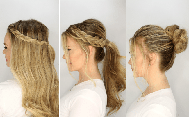 3 Easy Summer Hairstyles