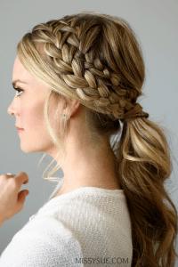 Hairstyle Ponytail Braid - HairStyles