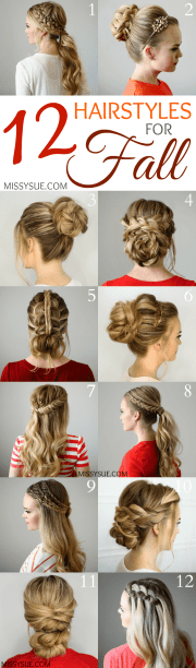 hairstyles fall