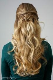braid embellished updo missy
