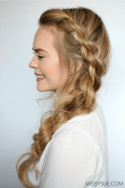 3 easy twisted hairstyles missy