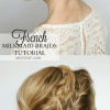 Photos milk braid hair for androids high quality french milkmaid missy sue