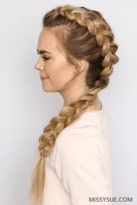 Dutch Mohawk Braid Hairstyles