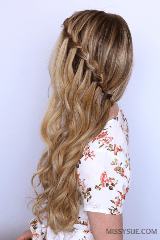 sideswept-waterfall-braid