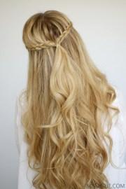 mini braids and beach waves missy