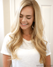 blowdry hair soft waves