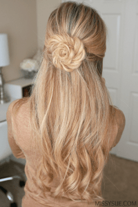 Fishtail Braid Flower