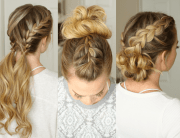 3 easy gym hairstyles missy sue
