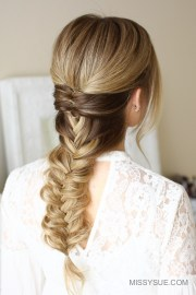 topsy tail fishtail braid missy