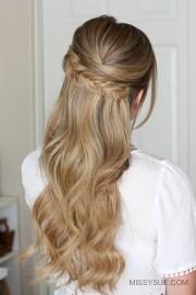 easy prom hair missy