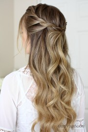 3 easy rope braid hairstyles