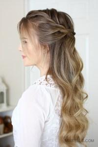 3 Easy Rope Braid Hairstyles   Fsetyt com