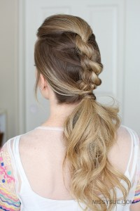 3 Easy Rope Braid Hairstyles