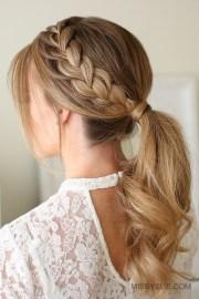 lace braid ponytail fsetyt