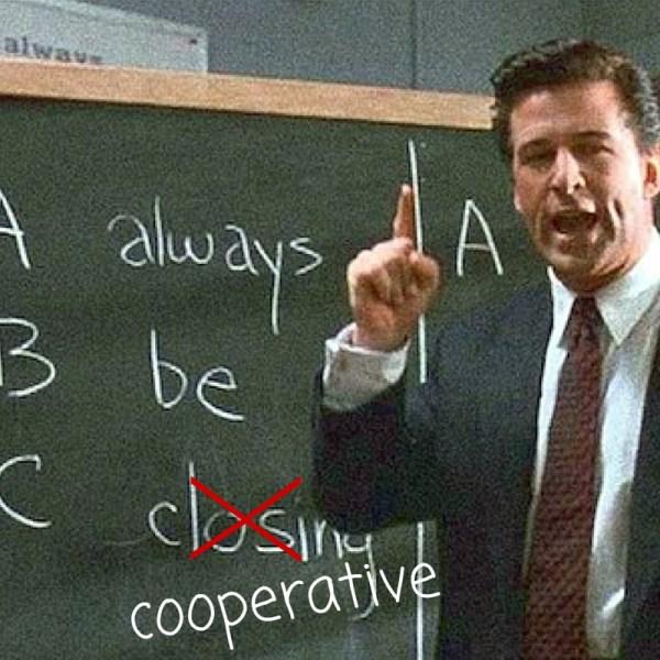 "A-B-C ""ALWAYS BE COOPERATIVE"" MISSY-WARD-AFFILIATE-MARKETING"