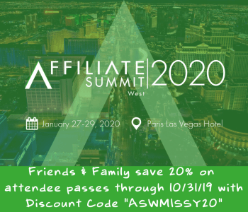 Affiliate Summit West 2020 Discount