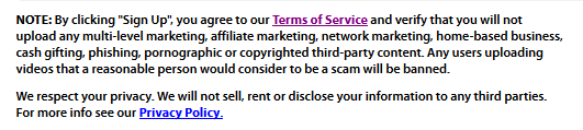 Old OneLoad Terms of Service