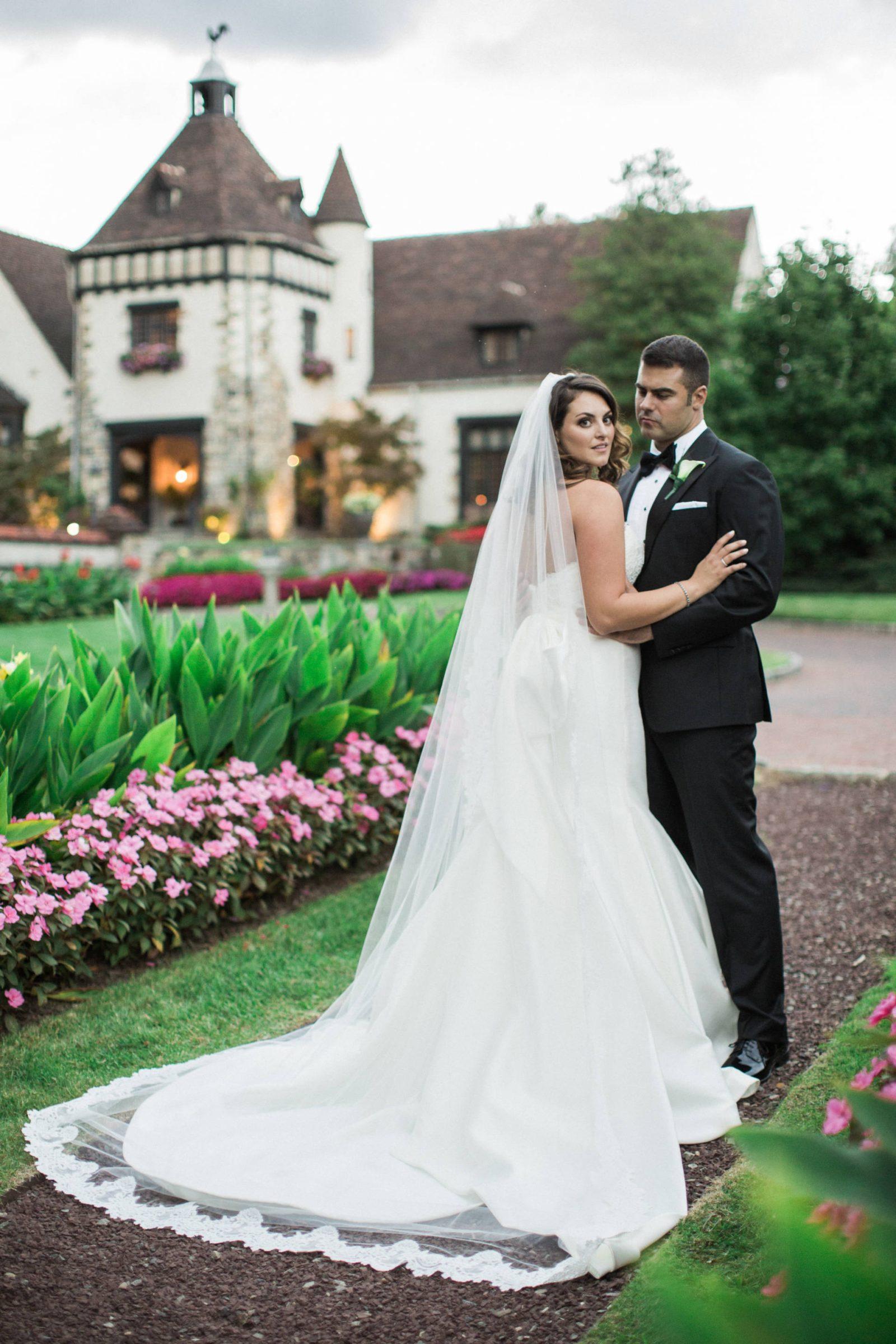 my dramatic wedding dress
