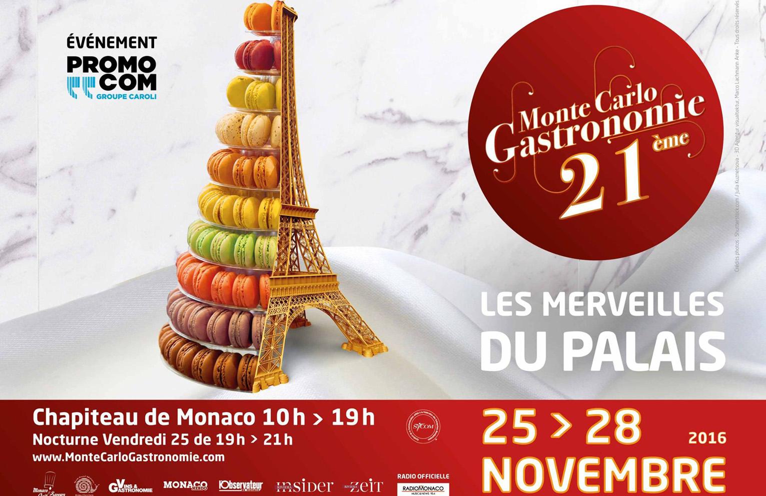 Jeu Concours Gagnez vos invitations au Salon MonteCarlo Gastronomie  Monaco