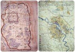Hanoï: vue par les cartes