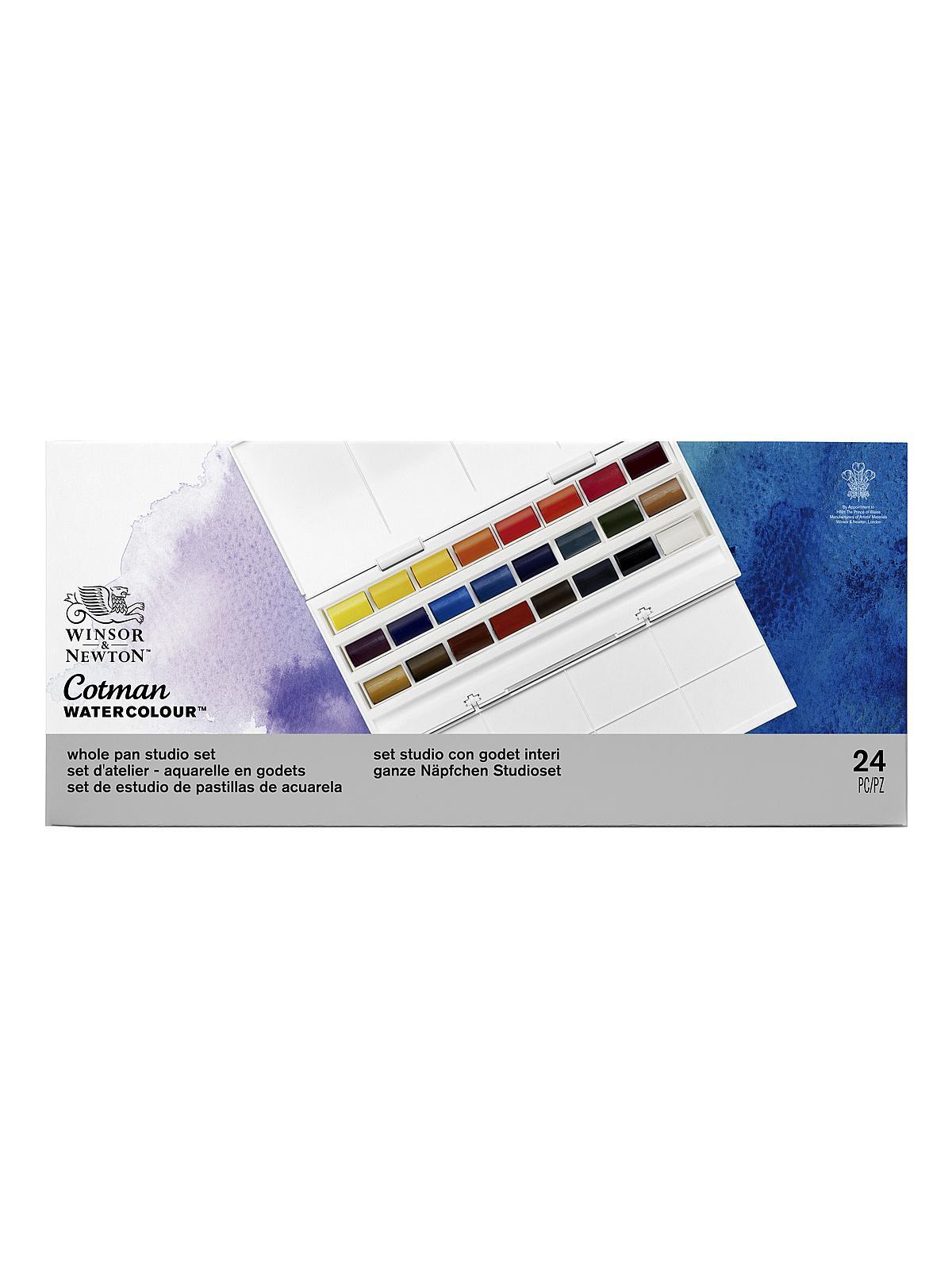 Winsor And Newton Watercolor : winsor, newton, watercolor, Winsor, Newton, Cotman, Water, Colour, Studio, MisterArt.com